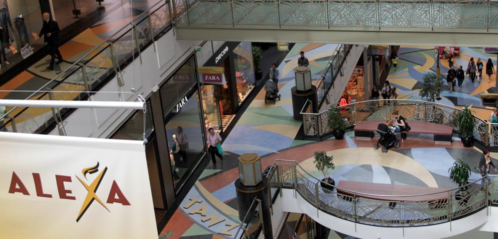 shopping centres alexa shopping centre top10berlin. Black Bedroom Furniture Sets. Home Design Ideas