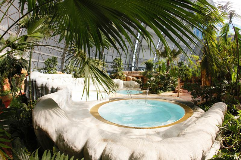 Tropical Island Saunalandschaft