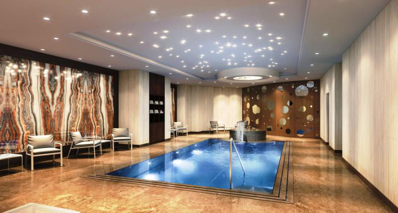 Wellness im the ritz carlton berlin wellness hotel spas for Trendige hotels berlin