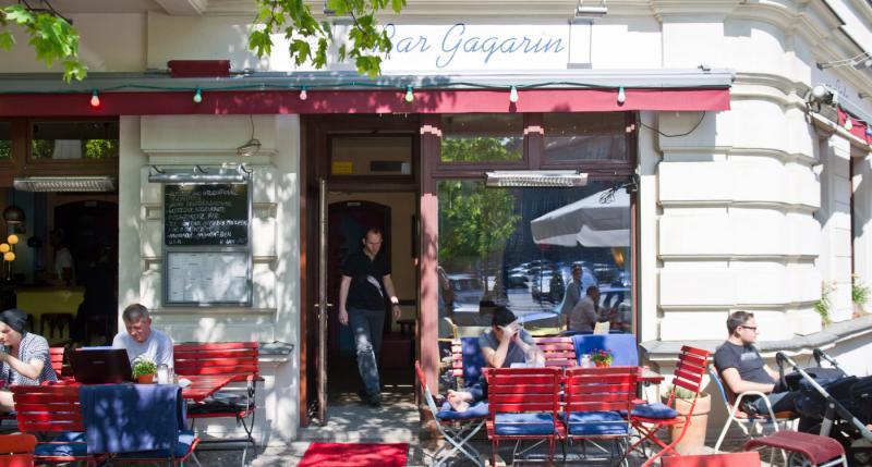 Gagarin Cafés Mit Sonnenschein Top10berlin