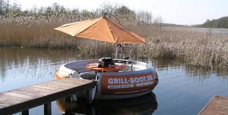 Foto: Grillboot