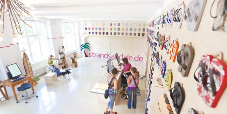 Strandsandale Besondere Schuhläden | top10berlin