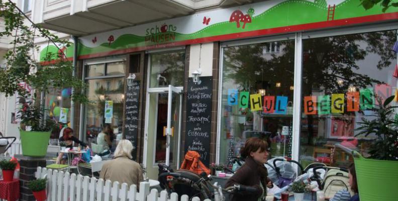 Wickeltisch In Cafe In Berlin