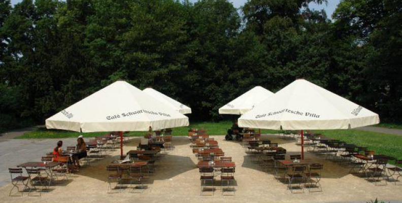 Foto: Café in der Schwartzschen Villa
