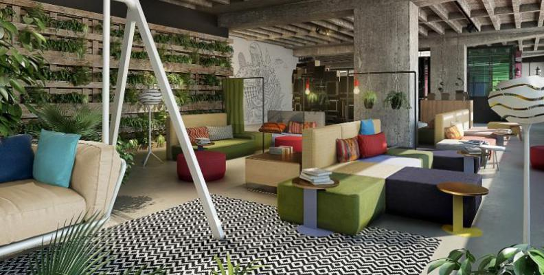 25hours hotel bikini berlin design und boutique hotels for Designhotel brandenburg