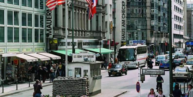Foto: Mauermuseum am Checkpoint Charlie