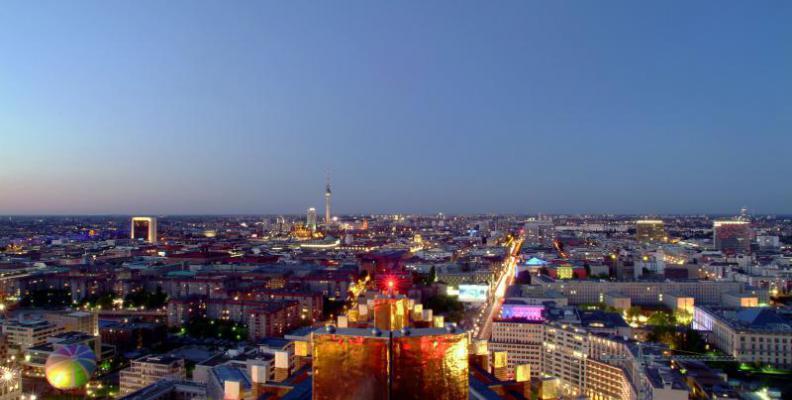 Panoramapunkt im Kollhoff Tower I Vincent Mosch