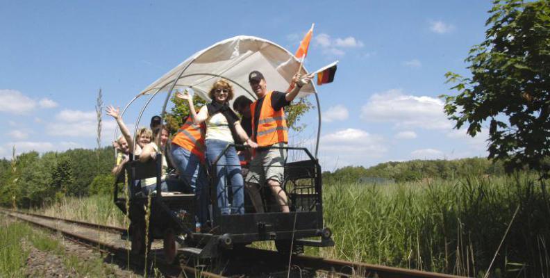 Foto: Abenteuer auf Schienen | erlebnisbahn