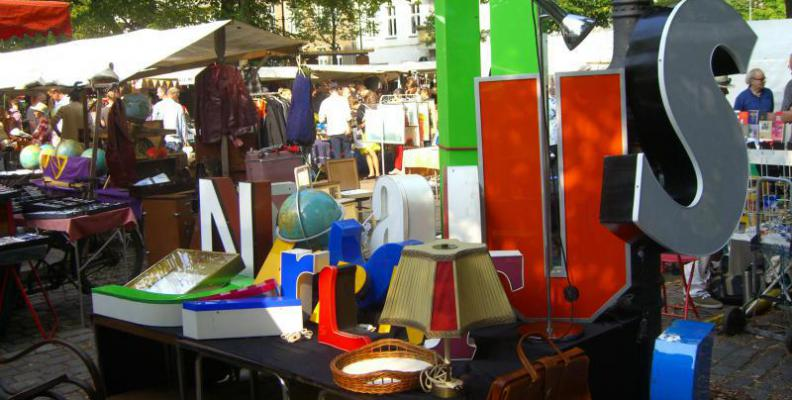 Flohmarkt berlin eigener stand