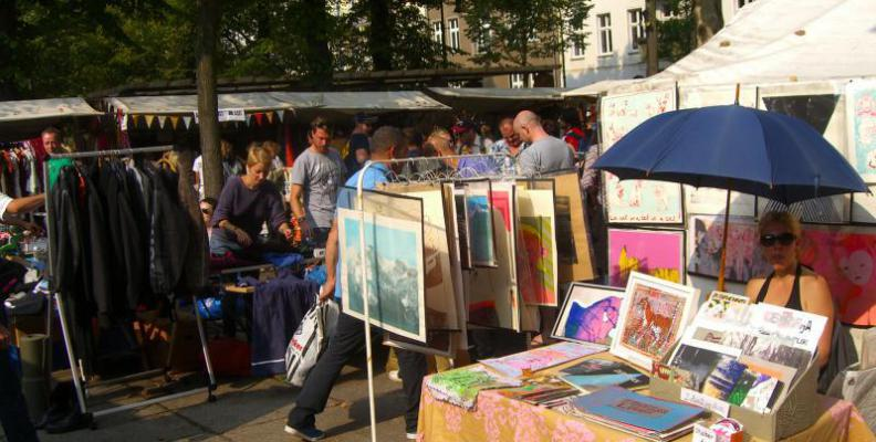 Foto: Flohmarkt Arkonaplatz