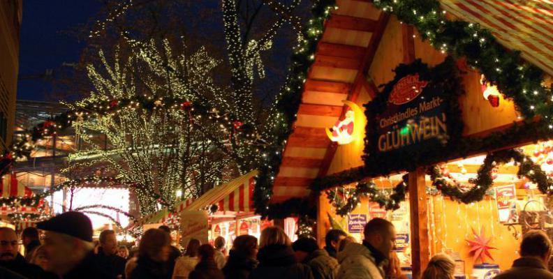 Foto: Winterwelt am Potsdamer Platz