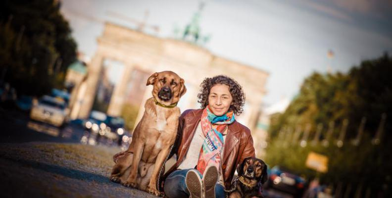 Foto: Berlin mit Hund | Nils Wiemer Wiemers