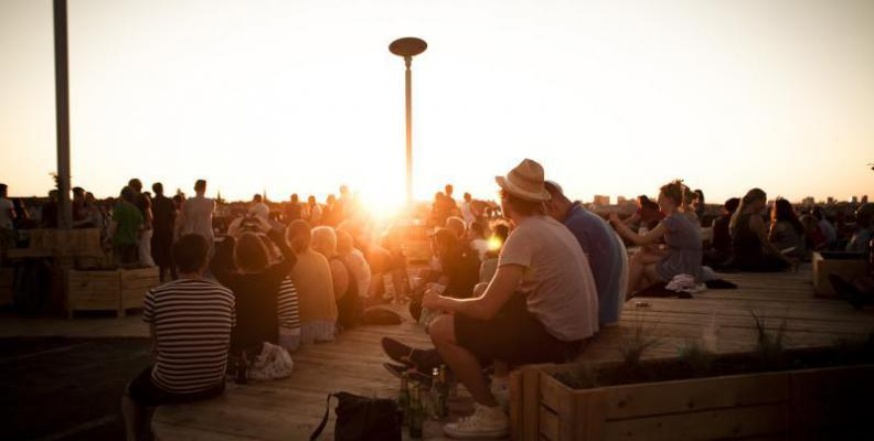 Jazzy Berlin X Klunkerkranich / The Sunset Rooftop Jazz Jam
