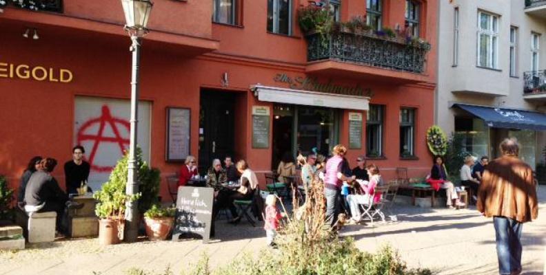 Foto: Café Freudberg in Kreuzberg