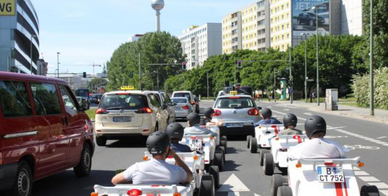 Foto: HotRod Tour durch Berlin