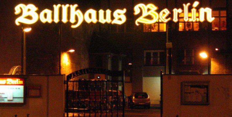 Foto: Ballhaus Berlin