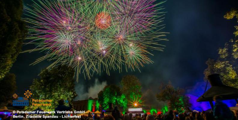 Zitadelle in Spandau | Foto: Potsdamer Feuerwerk Vertriebs GmbH
