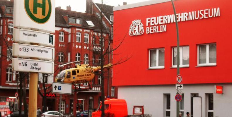 Foto: Feuerwehrmuseum Berlin | Sträubig