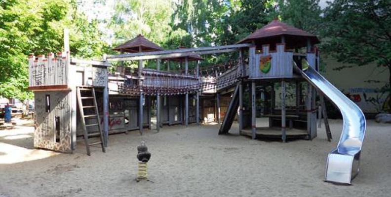 Spielplatz Sherwood Forest Spielplätze Top10berlin