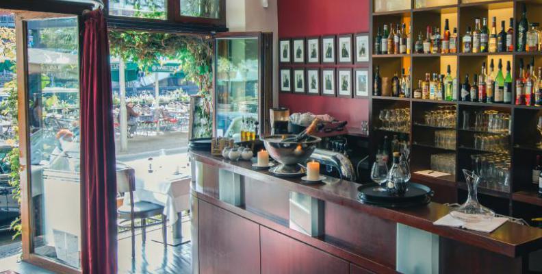 Brechts steakhaus upscale waterfront restaurants for Food bar brecht