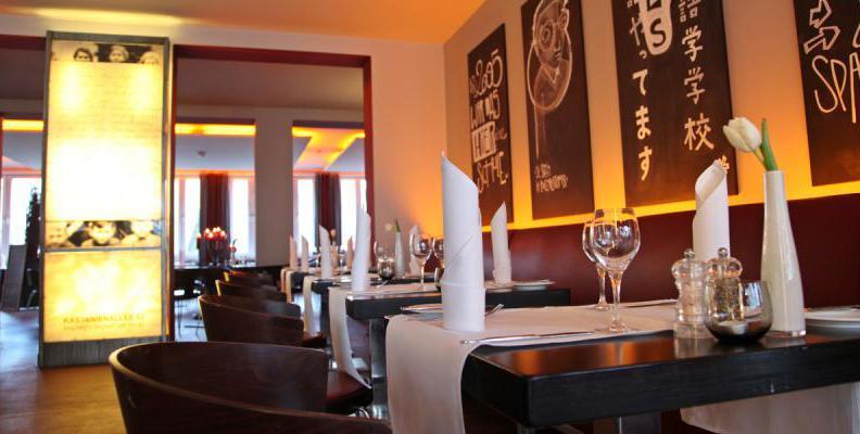 Menu Restaurant Die Schule Berlin Prenzlauer Berg Moderne