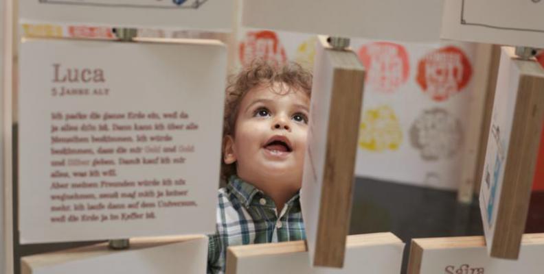 "Labyrinth Kindermuseum, Ausstellung ""1,2,3, Kultummel"" | Foto: Ragnar Schmuck"