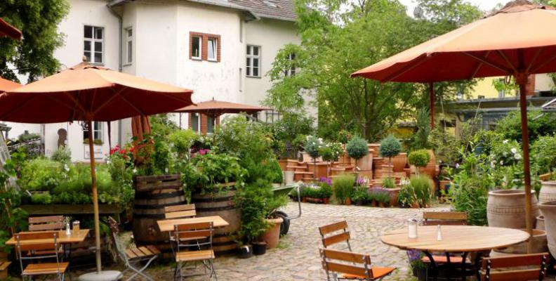Foto: Hofcafé | Heribert von Reiche
