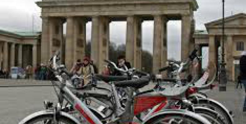 Photo: Bikes at Brandenburg Tour