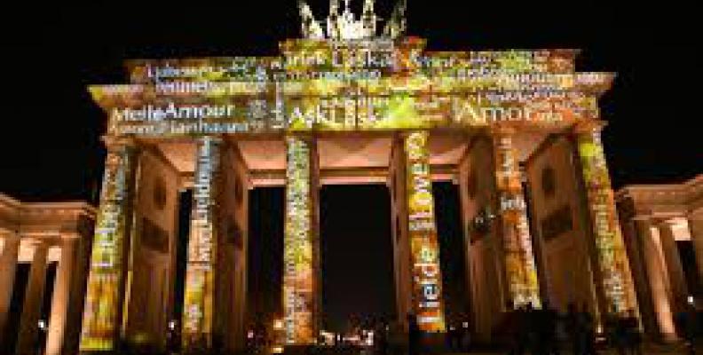 Photo: Brandenburg Gate (Festival of Lights)