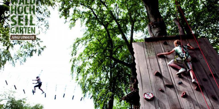 Foto: Waldhochseilgarten Jungfernheide