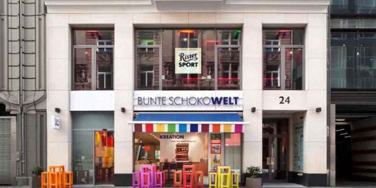 Foto: Ritter Sport - BUNTE SCHOKOWELT