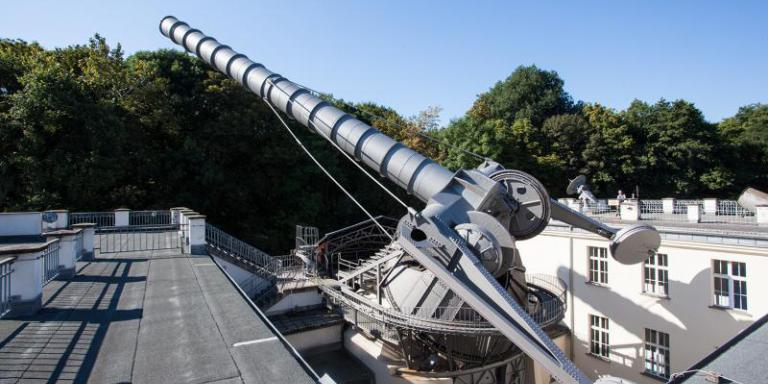 Archenhold Sternwarte - Großer Refraktor | Foto: SDTB / 2014