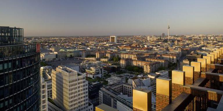 Foto: Panoramapunkt im Kollhoff Tower