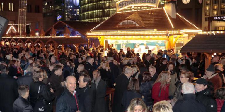 Foto: Winterwelt am Potsdamer Platz | Baganz